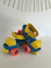 🏁  Ancien Rollers Patins à Roulettes Fisher Price Vintage