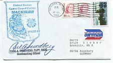 1994 Coast Guard Cutter Mackinaw WAGB-83 Gaylord A. Swedberg Polar Cover SIGNED