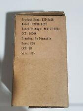 Sansi Loftek LED Bulb C21BB-BE26 5000k  Not Dimmable E26 Size A15 110V ..