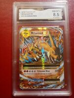 Mega Charizard EX 13/108 2016 XY Evolutions Pokemon Card GMA 8.5 NM-MT+