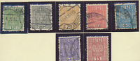 Poland Stamp Scott #1928-1937 Issues, 27 Different, Used