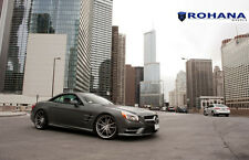 20x9 20x11 +30 Rohana RF2 Flowform 5x112 Titanium Wheel Fit Mercedes Sl550 2013