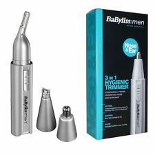 BABYLISS FOR MEN 7051BU NOSE & EAR HAIR 3 IN 1 HYGIENIC TRIMMER KIT