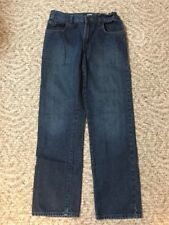 Boys The Children's Place Jeans Size 12 Straight Leg Jeans Dark Rinse EUC