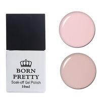 2Pcs 10ml Born Pretty Nail UV Gel Polish Soak Off LED Pink Varnish Manicure