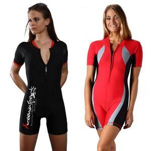 Women Boy Shorts Swimwear One Piece Bathing Suit Ladies Boyleg Swimsuit
