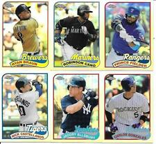 2014 TOPPS CHROME 89 NICE (6) CARD LOT  SEE LIST & SCAN  FREE COMBINED S/H