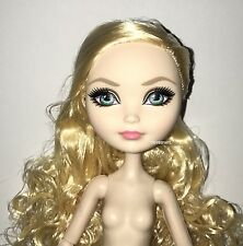 Ever After High Royal Apple White LOOSE Wave One ReRelease Nude Doll NEW to OOAK