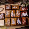 Retro Dschungel Series Holz Gummi Stempel  Scrapbooking Stationery DIY Embossing