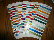 1974 Commercial Truck Colors Sherwin-Williams Color Chip Paint Sample