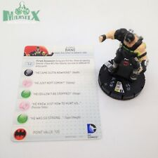 Heroclix Batman: Arkham Origins set Bane #021 Rare figure w/card!