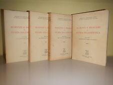 MOMENTI E PROBLEMI DI STORIA DELL'ESTETICA - 4 voll.