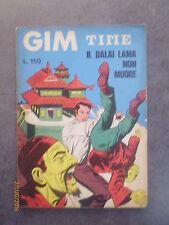 GIM TIME n° 12 - Il Dalai Lama non muore - Ed. Insubria - 1970