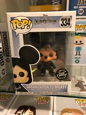Funko Pop Vinyl - Kingdom Hearts Organization 13 Mickey (#334) GITD CHASE!