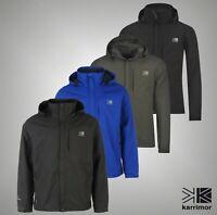 Mens Karrimor Full Zip Mesh Hooded Waterproof Urban Jacket Sizes from S to XXXXL