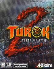 Turok 2 Seeds Of Evil PC CD Primagen hunt destroy creature dinosaurs battle game