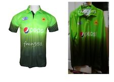 One Day Champion Pakistan Cricket Team Official T-Shirt Jersey with Sponsor Logo