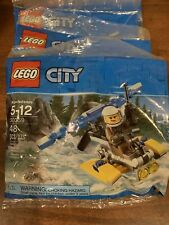 Lot Of 5 Lego City 30359 Police Plane Minifig Polybag New Sealed Trooper Set