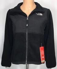 Girls North Face DENALI Fleece BLACK Jacket (Size: MEDIUM 10-12)