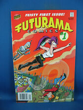 FUTURAMA 1 NM BONGO COMICS FIRST ISSUE