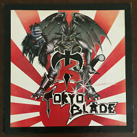 Tokyo Blade - Same S/T 1st Press Debut Vinyl UK 1983 LP Extra Track Org Rare EX