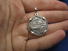 Sterling Silver Replica Pirate Coin Shipwreck Pendant Atocha Fl Keys souvenir