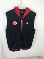 McDonald's All American Play Issued Mens Sz XL SS Hoodie Warmup Adidas Game Worn