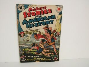 EC-1945 #1-Picture Stories From American History-Comic-Good/VG