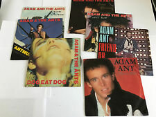 "ADAM & THE ANTS JOBLOT 7 X 7"" VINYL SINGLES : VG TO EX ANT MUSIC STAND DELIVER"