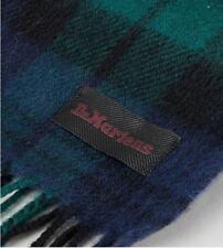 Dr Martens Black Watch Tartan Scarf. 100% Lambswool, New With Tags.