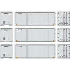 NEW ATHEARN HO UPS 28' CONTAINER 3-PACK #2