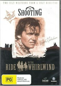 The Shooting / Ride In The Whirlwind - Jack Nicholson New and Sealed DVD