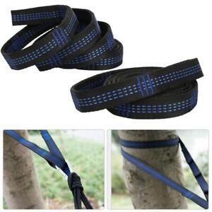 Hammock Belt Rope Straps Antiskid Bandage Fix High Load Bearing Outdoor Usage