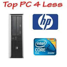 HP Compaq dc7800 SFF Desktop Core 2 Core E6550 2G 160G DVD Windows XP Pro