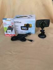 HD DashCam with sandisk 32 GB card new in box night vision