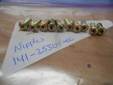 NOS Yamaha Spoke Nipples RD200 YCS1 CS5 141-25304-00 QTY 10