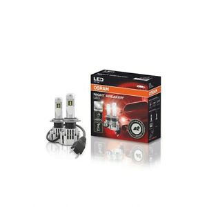 H7 OSRAM NIGHT BREAKER LED BULBS HEADLIGHT SCHEINWERFER