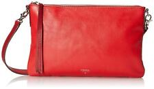 Fossil Sydney Top Zip in ScarletWomen's Sling Bag (ZB6438602)