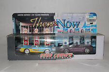 "Road Champs Then & Now ""Corvette"" 1953 Corvette & 1998 Corvette 1/43 Scale"