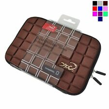 """Croco® 7"""" Super Chocolate Case Cover Sleeve for iPad Mini & 7"""" Tablets  - Brown"""