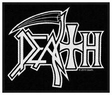 Death-logo ricamate patch Chuck Schuldiner Heavy Metal tonaca NUOVO