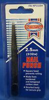 FAITHFULL Nail Punch 2.4mm (3/32in) - Square Head ****FREEPOST***