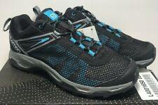 Salomon Mens Sz 10.5  X Ultra Mehari Training Running Black Teal Shoes 400165