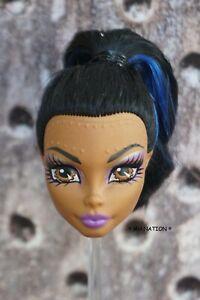 Monster High Robecca Steam DANCE CLASS Doll Head