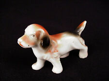 Miniature JAPAN Cocker Spaniel Dog porcelain Figurine