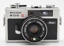 Ricoh 500G Kamera Sucherkamera Analogkamera - Rikenon 1:2.8 40mm Optik