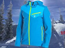 Spyder Mens XXL Eiger Waterproof Technical Ski Mountaineering Shell Jacket Nwt