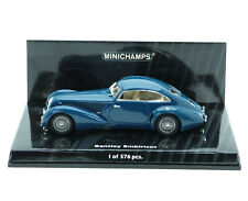 Bentley Embiricos 1939 blau blue bleu azzurro azul Minichamps 436139821 1:43