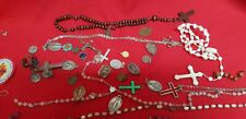Lot Items - Religious Rosaries Medals REF44291