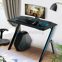 43.3'' Ergonomic Gaming Home Office Laptop Computer Desk Gamer Table Workstation